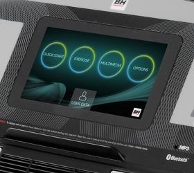 BH FITNESS F2W TFT Беговая дорожка - Технология Touch&Fun