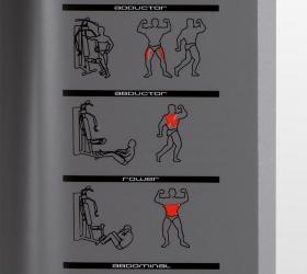 BH FITNESS MULTIGYM PLUS Силовой комплекс - Руководство по упражнениям