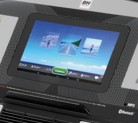 BH FITNESS PIONEER R5 TFT Беговая дорожка - Технология Touch&Fun