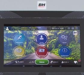 BH FITNESS PIONEER R5 TFT Беговая дорожка - Полностью настраиваемый софт