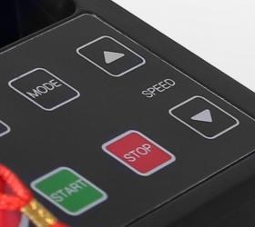 CARBON FITNESS T120 Беговая дорожка - Консоль с клавишами быстрого доступа