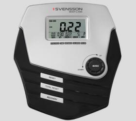 SVENSSON BODY LABS CROSSLINE BHM Велотренажер - Черно-белый LCD-дисплей диагональю 9 см