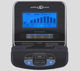 APPLEGATE E22 A Эллиптический тренажер - ГОЛУБОЙ LCD-ДИСПЛЕЙ 14 СМ