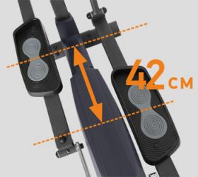 APPLEGATE E22 A Эллиптический тренажер - ДЛИНА ШАГА 42 СМ