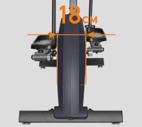 APPLEGATE E22 A Эллиптический тренажер - ЗАУЖЕННОЕ РАССТОЯНИЕ МЕЖДУ ПЕДАЛЯМИ (18 СМ)