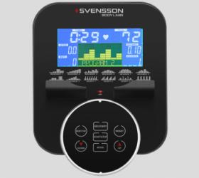 SVENSSON BODY LABS HEAVY G UPRIGHT Велотренажер - ЦВЕТНОЙ СЕНСОРНЫЙ LCD-ДИСПЛЕЙ 14 СМ
