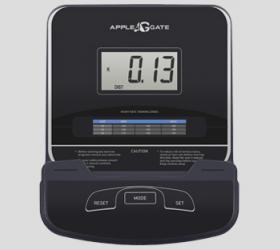 APPLEGATE X23 M Эллиптический тренажер - ЧЕРНО-БЕЛЫЙ LCD-ДИСПЛЕЙ ДИАГОНАЛЬЮ 9 СМ