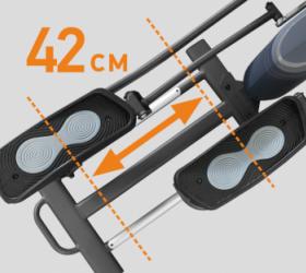 APPLEGATE X23 M Эллиптический тренажер - ДЛИНА ШАГА 42 СМ