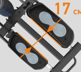 APPLEGATE X23 M Эллиптический тренажер - МАЛЫЙ Q-ФАКТОР S.Q.F.™ (17 СМ)