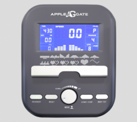 APPLEGATE X42 A Эллиптический тренажер - ГОЛУБОЙ LCD-ДИСПЛЕЙ 14 СМ