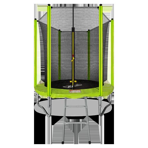 ARLAND Батут  6FT с внутренней страховочной сеткой и лестницей (Light green) №1