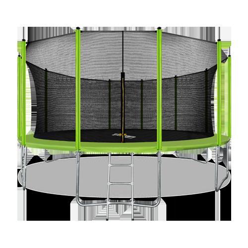 ARLAND Батут 16FT с внутренней страховочной сеткой и лестницей (Light green) №1