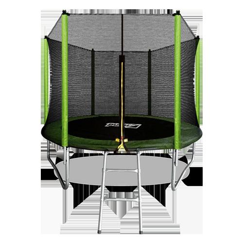 ARLAND Батут  8FT с внешней страховочной сеткой и лестницей (Light green) №1