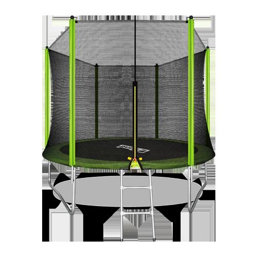 ARLAND Батут  10FT с внешней страховочной сеткой и лестницей (Light green) №1