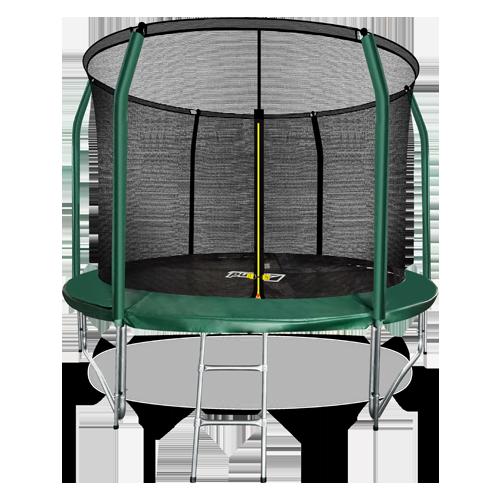 ARLAND Батут премиум 10FT с внутренней страховочной сеткой и лестницей (Dark green) №1
