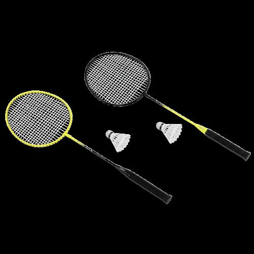 KRAFLA Fun 300 Набор для бадминтона: ракетка (2 шт), волан (2 шт) №1