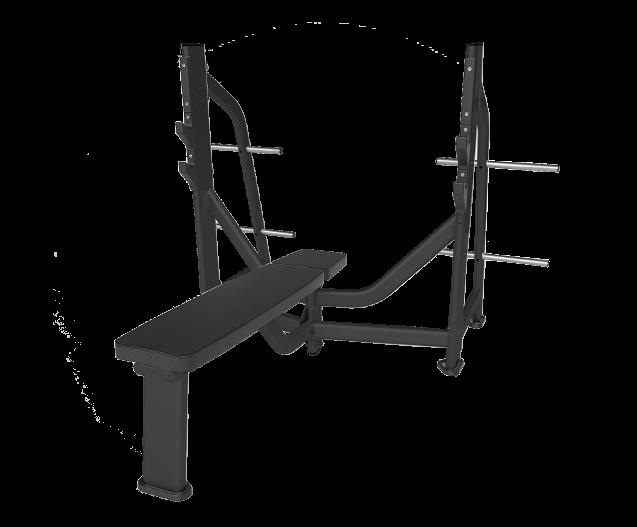 SVENSSON INDUSTRIAL E7043 Matte Black Горизонтальная скамья для жима №1