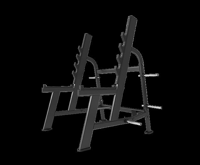 SVENSSON INDUSTRIAL E7050 Matte Black Стойка для приседаний №1