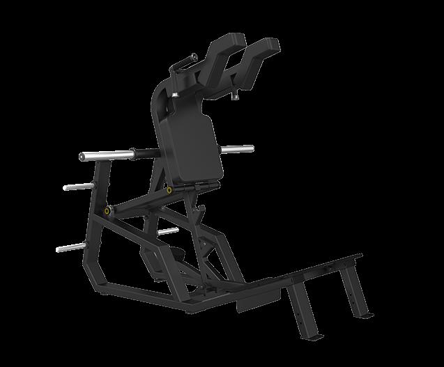 SVENSSON INDUSTRIAL E3065 Matte Black Приседания в тренажере №1