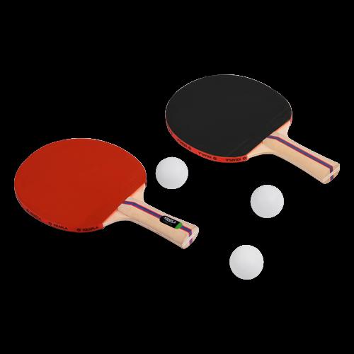 KRAFLA S-H200 Набор для н/т: ракетка (2шт), мяч (3шт) №1