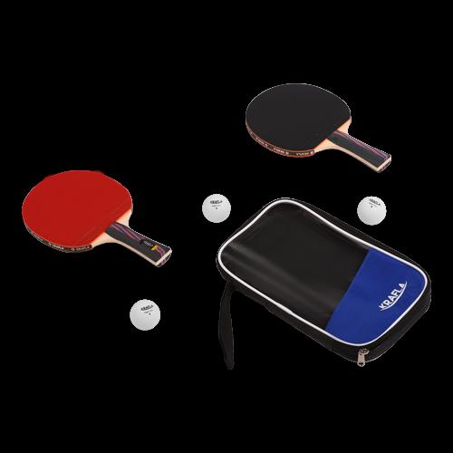 KRAFLA S-T1000 Набор для н/т: ракетка (2шт), мяч (3шт) №1