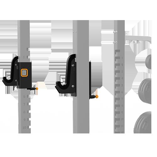MATRIX MAGNUM OPT1R Крюки для олимпийского грифа для силовой рамы №1