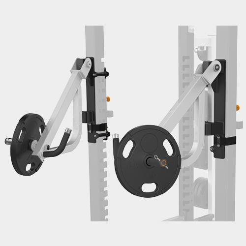 MATRIX MAGNUM OPT17R Рычаги для жима для силовой рамы MEGA Power Rack №1