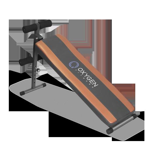 OXYGEN FLAT SIT UP BOARD Скамья для пресса прямая