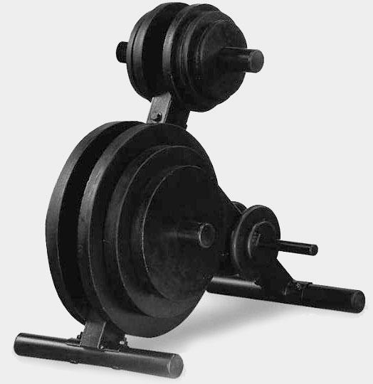 Подставка для олимпийских дисков--Body Solid OWT24 №1