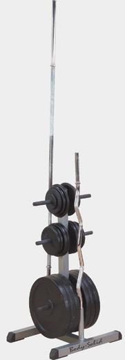 Подставка для стандартных дисков и грифов--Body Solid GSWT №1