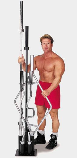 Подставка для олимпийских грифов--Body Solid GOBH-5/OBH-5 №1