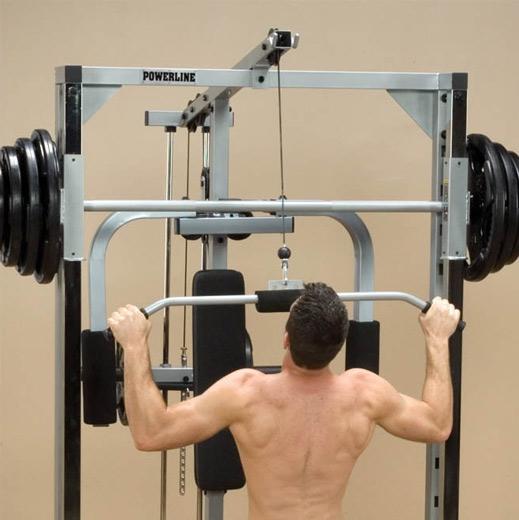 Опция верхняя тяга Body Solid Powerline PLA144 №1