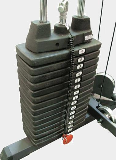 Весовой стек Body Solid SP150 №1