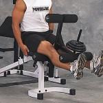 Опция сгибание-разгибание ног<br>Body Solid Powerline PLDA1